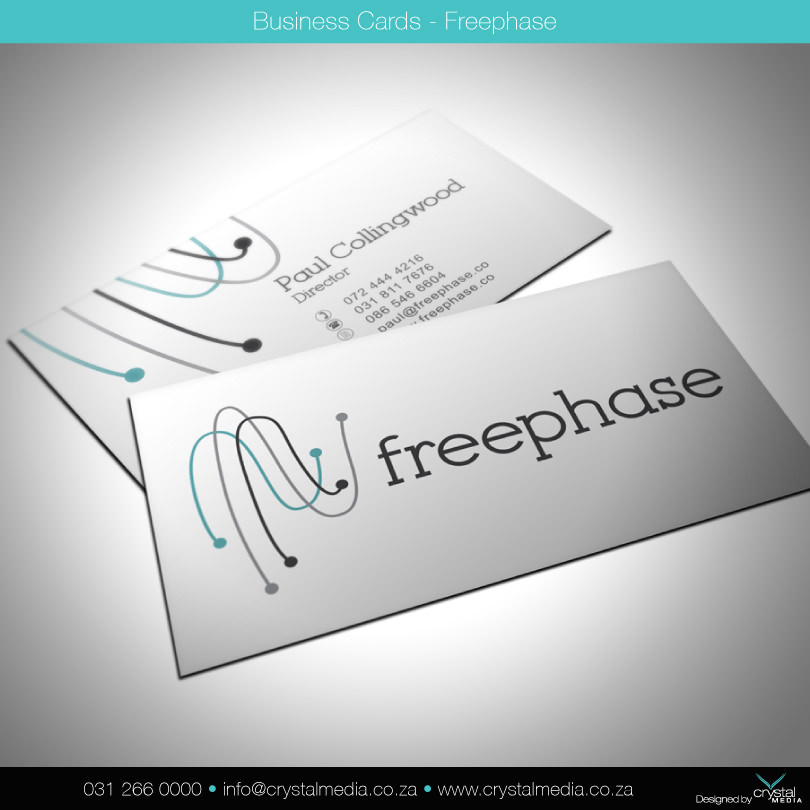 FREEPHASE BUSINESS CARDS