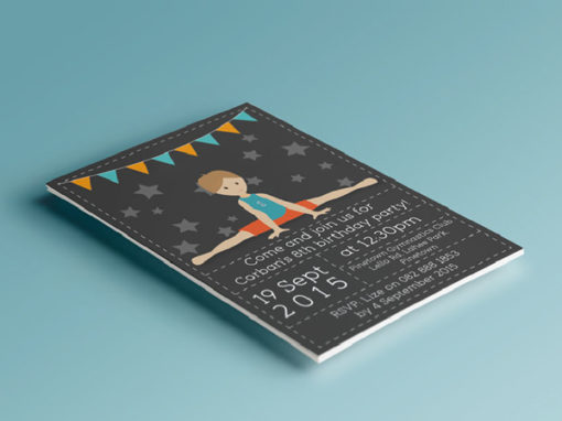 KIDDIES INVITATIONS