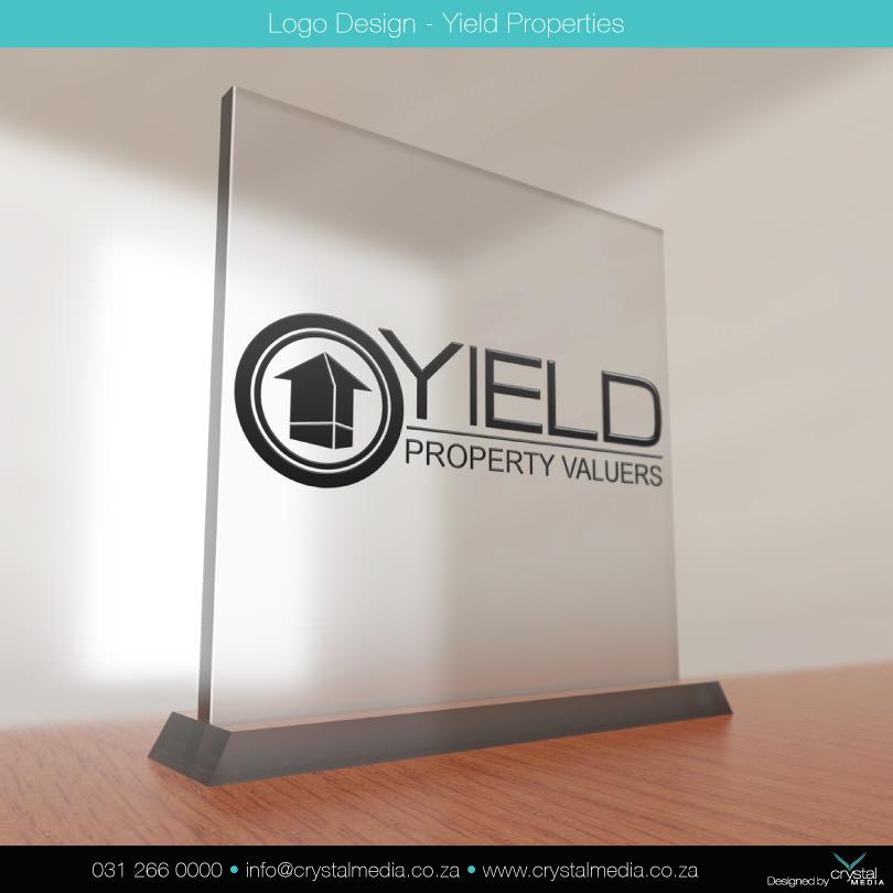 YIELD PROPERTIES LOGO DESIGN
